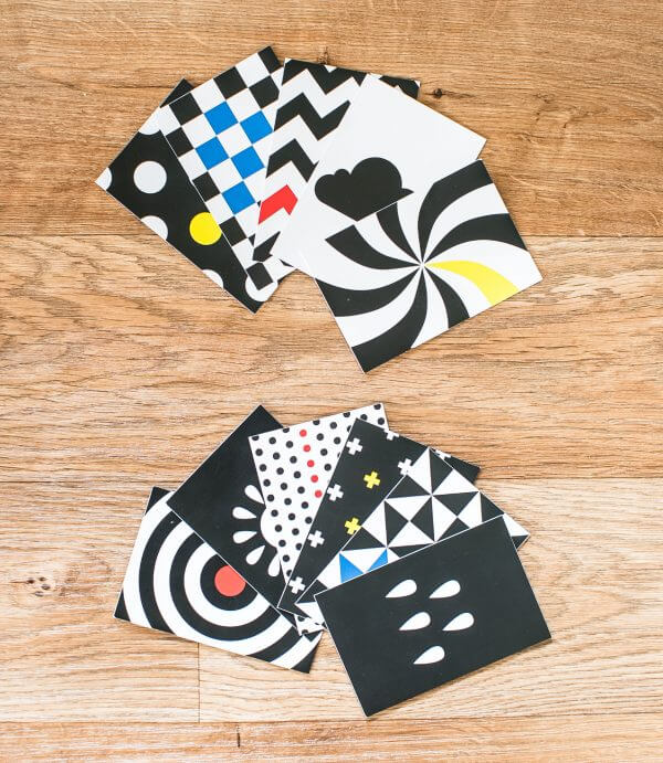 Senseable Play Baby Stimulation Cards