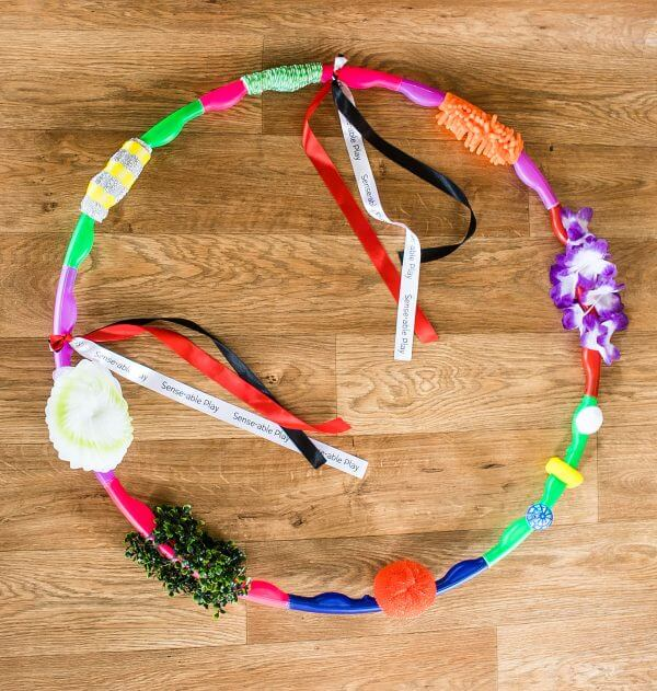 Senseable Play Detachable Sensory Hoop for Baby Stimulation and Child Development