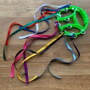 Senseable Play Baby Stimulation Ribbon Tambourine