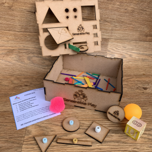 Senseable Play Posting Box for Fine Motor Development
