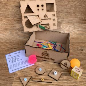 Senseable Play Posting Box for Fine Motor Development